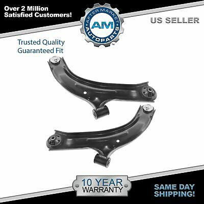 Front Lower Control Arms w/ Ball Joints Pair Set of 2 For Nissan Versa Cube
