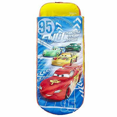 Disney Cars Junior Ready Bed - All-In-One Sleepover Solution Sleeping Bag