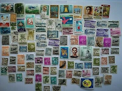 500 Different Bangladesh Stamp Collection