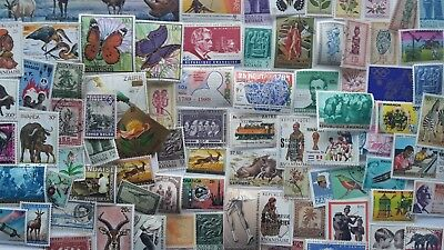 1500 Different Belgian Colonies Stamp Collection