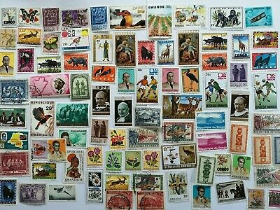 2000 Different Belgian Colonies Stamp Collection