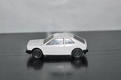 80'S JOY TOY VINTAGE GREEK PLASTIC CAR VW Volkswagen Scirocco No 7