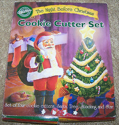 Wilton The Night Before Christmas Cookie Cutter Set #2311-309 c.2000