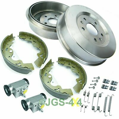 Freelander 1 TD4 Rear Brake Drums Cylinders Shoes & Spring Overhaul Kit