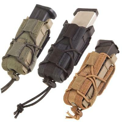 High Speed Gear Belt Mounted Pistol TACO Single Mag Pouch, Made in the USA