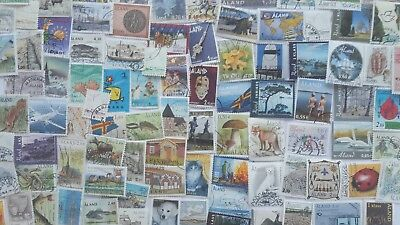 300 Different Aland Stamp Collection