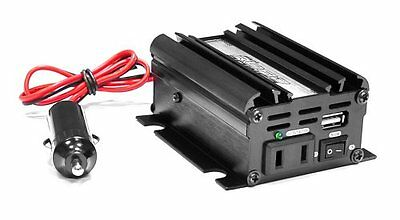 New Pyle PINV22 Plug In Car Power Inverter 100W Output W/ Modified Sine Wave