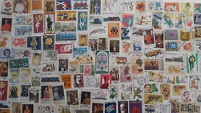 3000 Different Bulgaria Stamp Collection