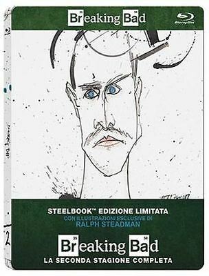 Blu Ray BREAKING BAD Stagione 2 - (Steelbook Limited Edition) (3 Blu-Ray) .NUOVO