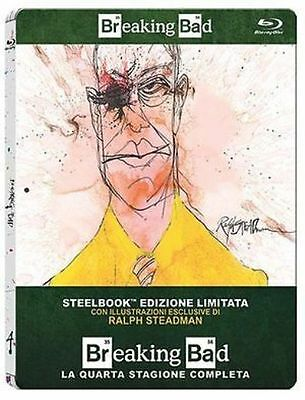 Blu Ray BREAKING BAD Stagione 4 - (Steelbook Limited Edition) (3 Blu-Ray) NUOVO