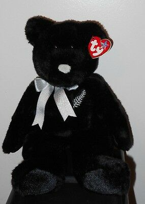 Ty Beanie Buddy ~ FERNY the Bear (14 inch) ~ New Zealand ~ MINT with CREASED TAG