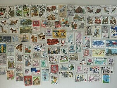 300 Different Czech Republic Stamp Collection