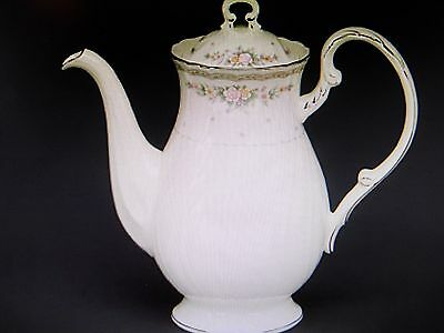 NEW Noritake KNOTTINGHILL Covered Coffee Pot (server) & Lid - NEW IN BOX