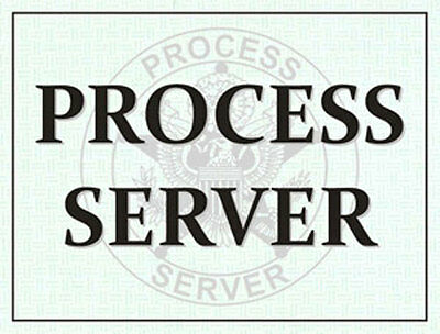 Process Server Windshield Pass