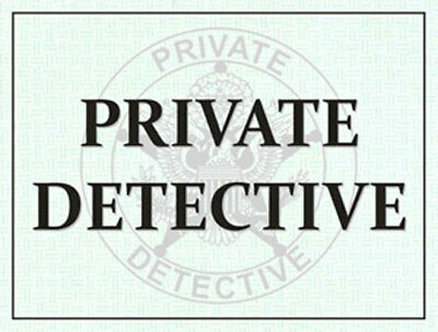 Private Detective Windshield Pass