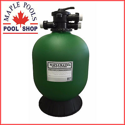New Maplematic 25Inch Equivalent Sand Filter  Free Delivery Metro Areas