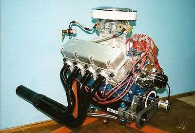 The 800 Plus Horse 460 - 520 Big Block Ford Racing Engine 7Hr DVD - 2 Disc Set