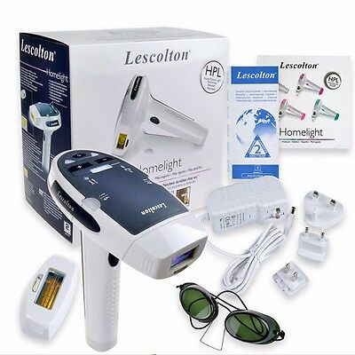 NEW Lescolton Laser IPL Permanent Hair Removal Machine For Face and Body Home