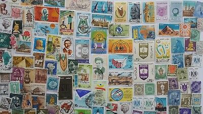 300 Different Egypt Stamp Collection