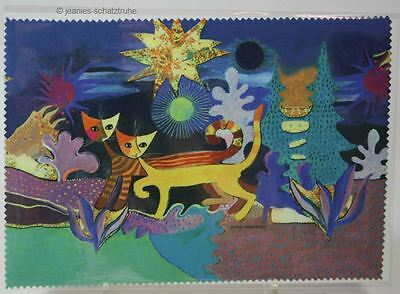 Microfibre / Glasses Cleaning Cloth Rosina Wachtmeister Wonderland Cat