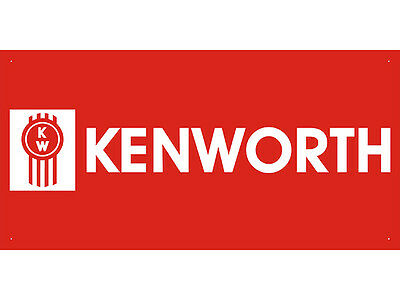 Kenworth Car Auto Parts Club Shop Display Advertising Banner