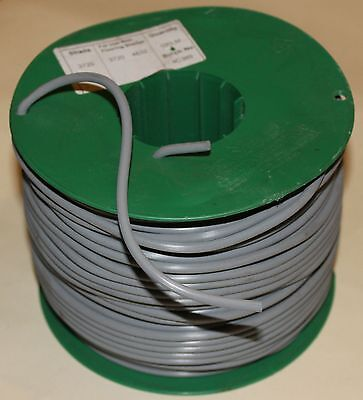 100m ROLL OF 4mm PLASTIC WELD ROD ~ Polyflor Ejecta 8200 Grey ~ hot air welding