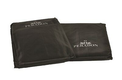 Peradon Black Fitted Snooker, Billiards Pool Table Dust Cover, 6 sizes available