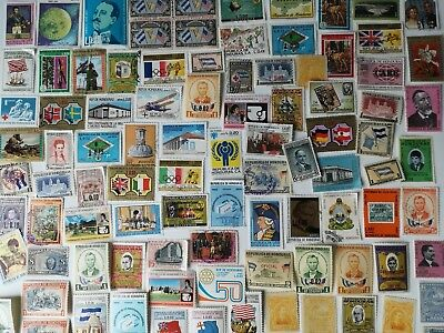 500 Different Honduras Stamp Collection
