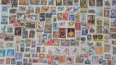 4000 Different Hungary Stamp Collection
