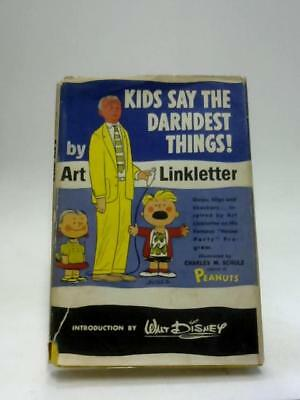 Kids Say the Darndest Things Art Linkletter 1957 Book 57153