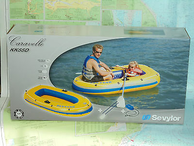 Sevylor KK55D Caravelle inflatable boat suitable for one adult plue one child.