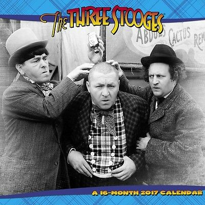 The Three Stooges Wall Calendar