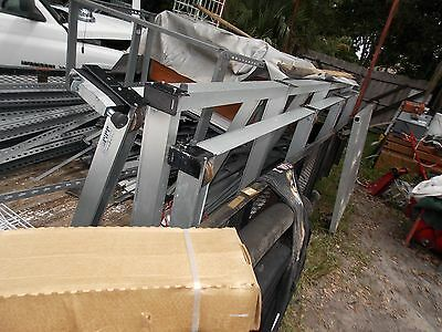 "3 Units PIPP 36"" x 10'  Mobile Storage Industrial Shelving Track System Orlando"