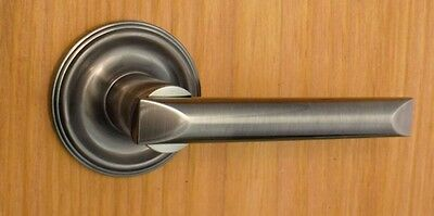 Avalon Privacy Door Lever Set for Bedroom and Bathroom Doors by FPL Door Locks
