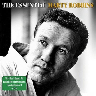 Marty Robbins ESSENTIAL Best Of 50 Songs GUNFIGHTER BALLADS New Sealed 2 CD