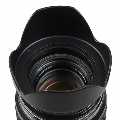 Vivitar 62mm Digital Tulip Flower Hard Lens Hood - VIV-DH-62