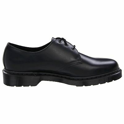 Dr.Martens 1461 3-Eyelet Mono Smooth Black Mens Shoes