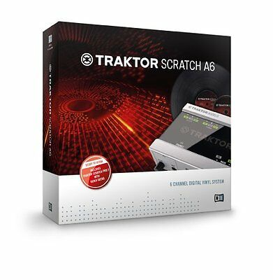 Native Instruments TSA6 Traktor Scratch A6