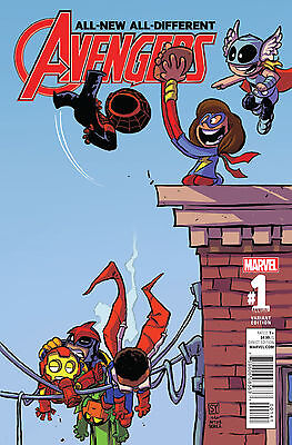 ALL NEW ALL DIFFERENT AVENGERS ANNUAL #1 YOUNG VARIANT (Marvel 2016 1st Print)