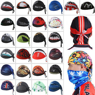 Outdoor Sports Bike Bicycle Cycling Breathable Pirate Hat Cap Bandana Headbands