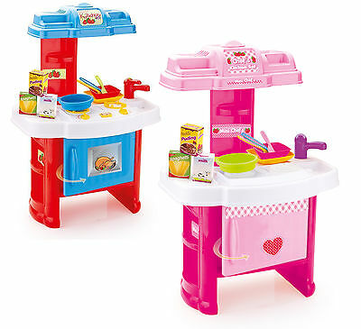 Kids Children's Chef Kitchen Set 18 Or 19 Piece Role Play Boys Girls Toy Gift