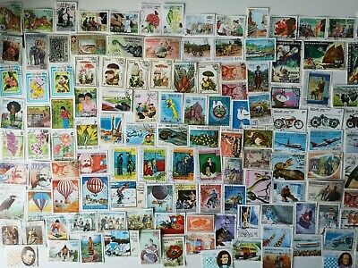700 Different Laos Stamp Collection