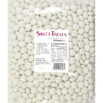 White Candy Chews 500G Bag Pineapple Flavour Party Lolly Buffet Lollies