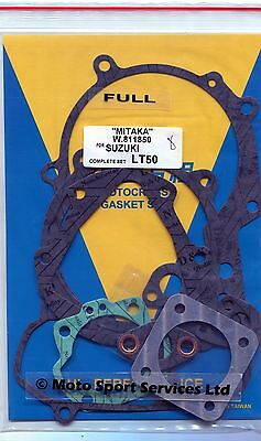 Full Engine Gasket Set Suzuki LT 50 Quad LT50 Mitaka