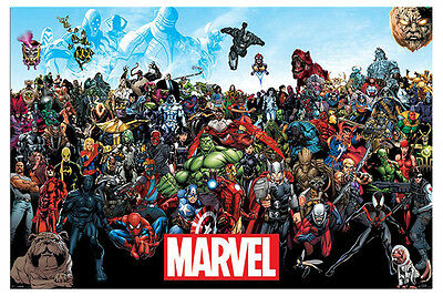 Marvel Universe Poster New - Maxi Size 36 x 24 Inch