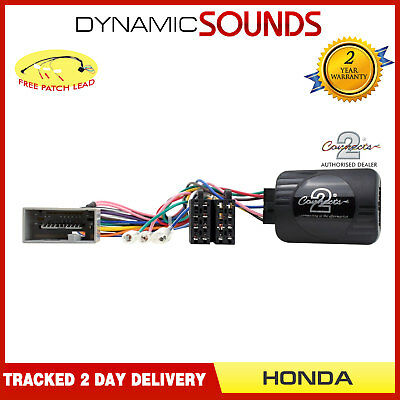 Steering Wheel Control Stalk Interface + FREE PATCH For HONDA Fit Insight Jazz