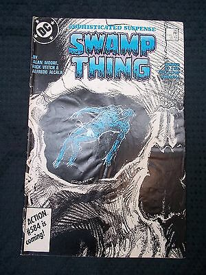 OPC 1986 DC Comics #56 Swamp Thing Sophisticated Suspence
