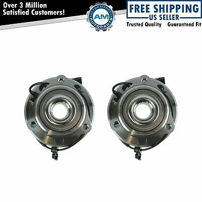 Wheel Bearing & Hub Assembly Pair Kit LH & RH Front for Jeep Wrangler