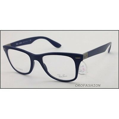 Sehbrille Ray Ban LITEFORCE RX7034 5439 matte blue 50-19