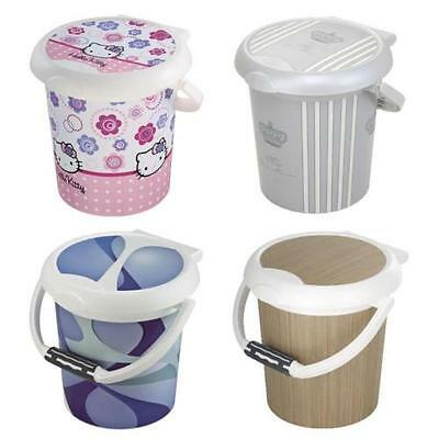 Rotho Style! Diaper Bin CHOICE OF COLOURS NEW